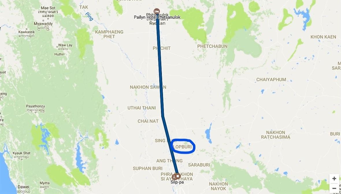 Ayutthaya a Phitsanulok Timeline_LI