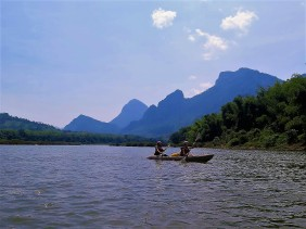 Kayaking + Pak Ou Cave (33)
