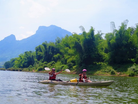 Kayaking + Pak Ou Cave (34)