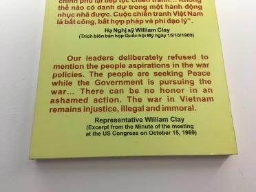 2 -War Remnants Museum - Jennyskyisthelimit - HoiPhong Wavefront Exhibit (12)