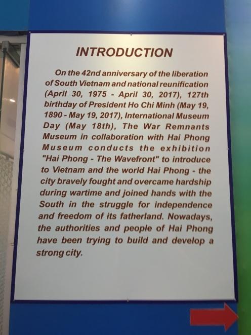 2 -War Remnants Museum - Jennyskyisthelimit - HoiPhong Wavefront Exhibit (9)