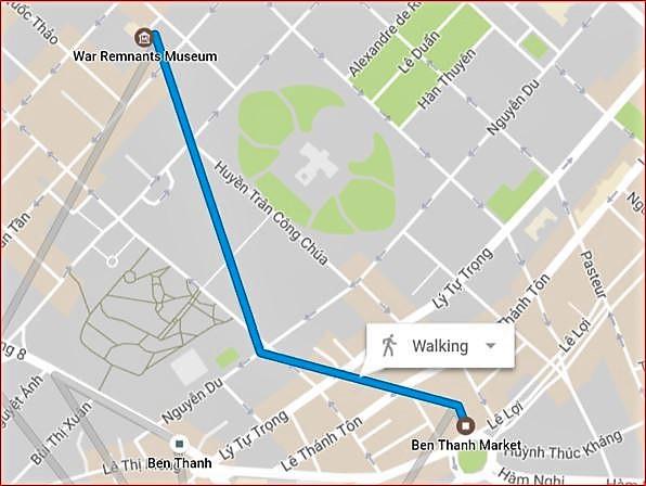 1- Jenny Caminando desde Museo hasta Ben Thanh Market (1)