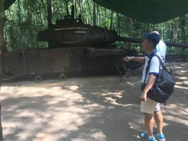 2-Jenny Rojas - Visit Cuchi Tunnel (11)