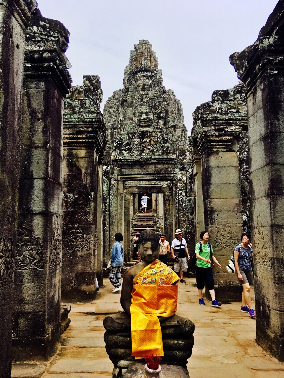 Angkor Thom Bayon 13th Century by JennySkyIsTheLimit