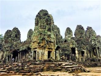 Angkor Thom Bayon Now