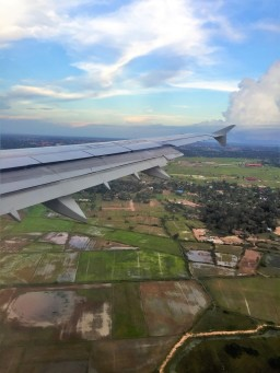 Arriving in Cambodia - Siem Reap - by Jenny Rojas