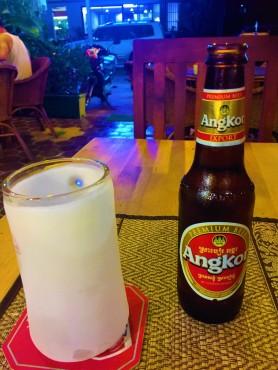 Local beer at Siem Reap