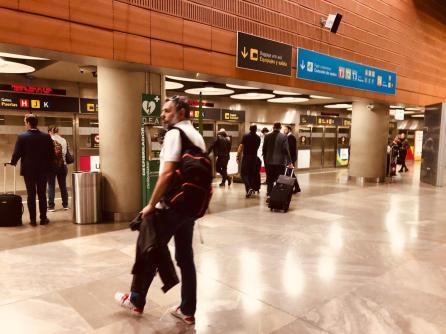 Madrid Airport FAM Trip Jenny Rojas - 14 May 2019 (4)