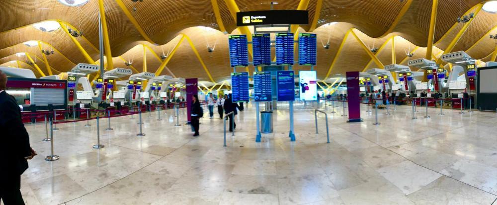 Madrid Airport FAM Trip Jenny Rojas - 14 May 2019 (9)