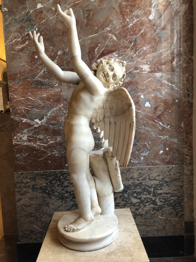 Paris - Jenny Rojas Apr19 - Jennyskyisthelimit - The Louvre Museum (31) Eros God of Love