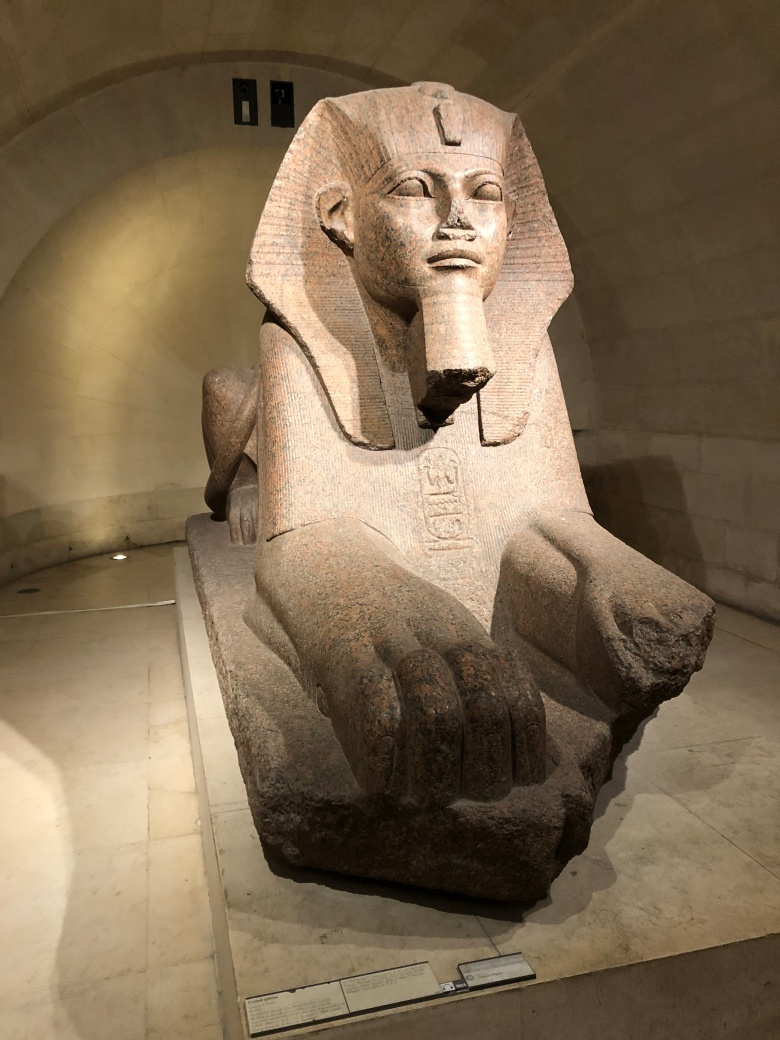 Paris - Jenny Rojas Apr19 - Jennyskyisthelimit - The Louvre Museum (43) - The Sphinx