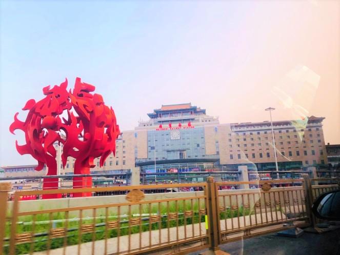0 Beijing to Xian Train Journey Bullet Train (1)