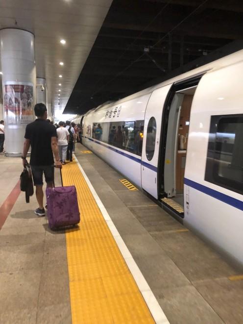 0 Beijing to Xian Train Journey Bullet Train (5)