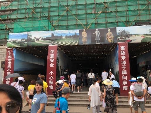 2 Xian - Terracota Army Site Entrance