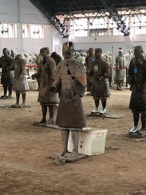 3 - Xian -Terracota Army - Restoration Process (3)