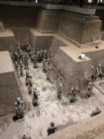 4 - Xian -Pit 3 Terracota Army - The Head(less)quarter (4)