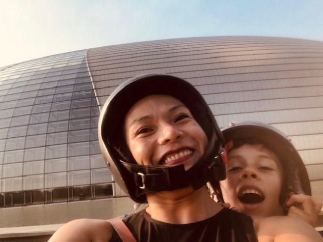 Day 4 - Sidecar Experience around Beijing - Giant Egg