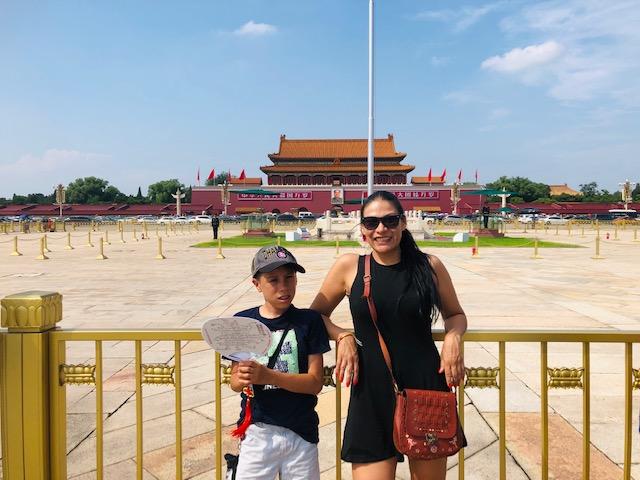 Day 4 - Tiananmen Squeare - Jenny Rojas