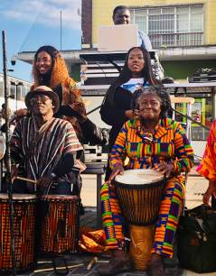 Drumming and dance by Efue Sey Academy - Talentos Group - Jennyskyisthelimit (1)