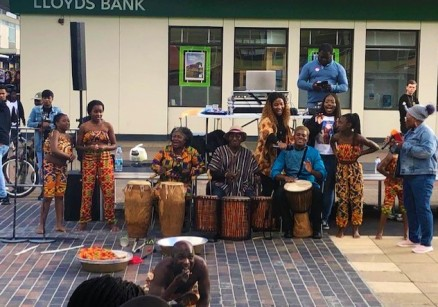 Drumming and dance by Efue Sey Academy - Talentos Group - Jennyskyisthelimit (4)