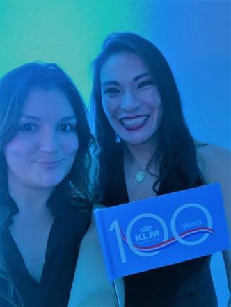 KLM 100th Anniversary - Berenice Roure - Jenny Rojas - JennySkyIsTheLimit Oct 2019 (1)
