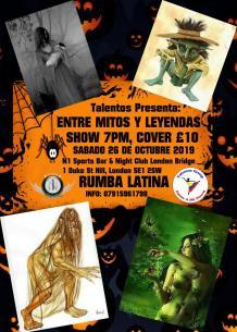 Show Mitos Y Leyendas - Talentos Group - Colombia en UK (1)