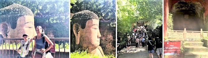 China Day 7 -Leshan Giant Budda & 333 Steps