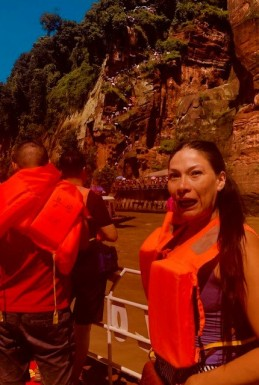 China Day 7 -Leshan Giant Budda - Boat Ride