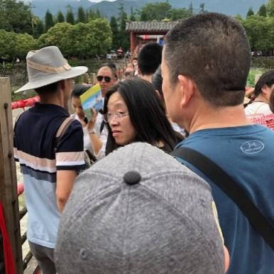 Crossing of the Anlan Bridge - Dujiangyan Irrigation System - JennySKyisTheLimit by Jenny Rojas (2)