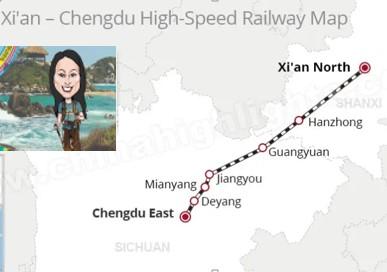 Jenny Rojas - Xian to Chengdu Train Journey
