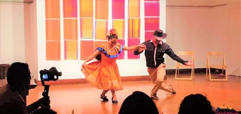 Danza Folclorica Colombiana en Londres - Grand Gala Talentos 2019 - Joropo - Llanero Si Soy Llanero (1)