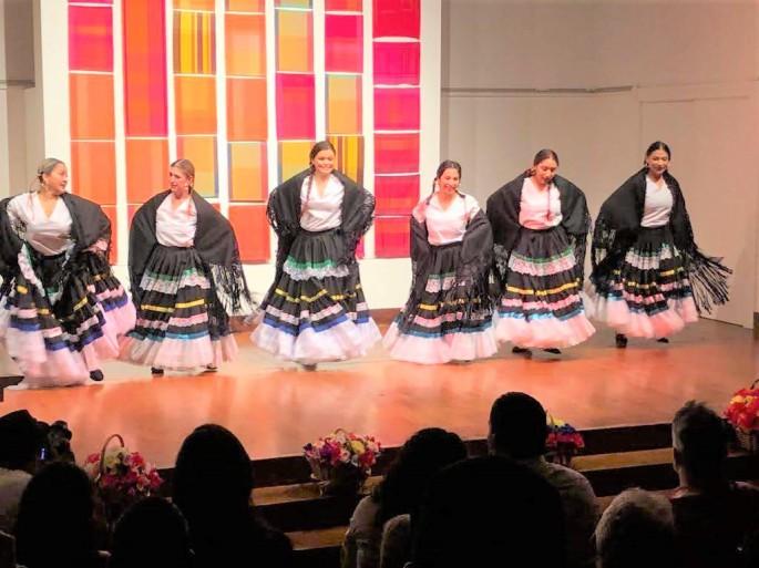 Danza Folclorica Colombiana en Londres - Grand Gala Talentos 2019 - Son Sureño, Performed by Eleida, Vanessa, Liss, Jenny, Adriana & Francia.jpg