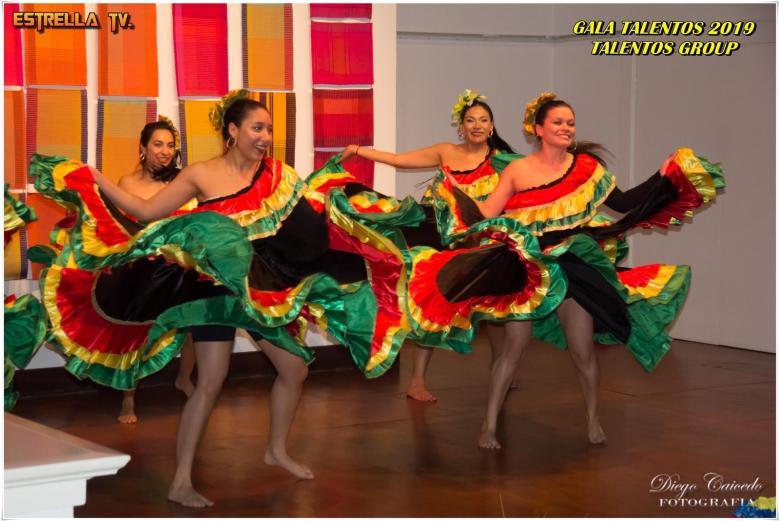 Danza Gala Talentos Group Dec 2019 - Colombia Dance UK - Bailando Conchita de Petrona Martinez - Performed by Liss, Vanessa, Adriana, Jenny, Johanna, and Eleida.jpeg