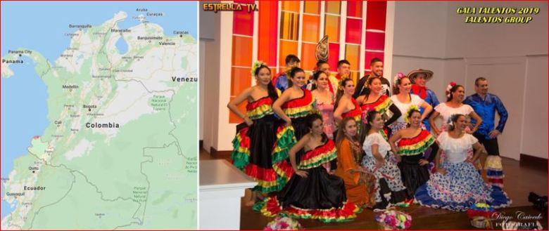 Gala Talentos Group Dec 2019 - Colombia Dance UK - Folclor Colombiano en Londres