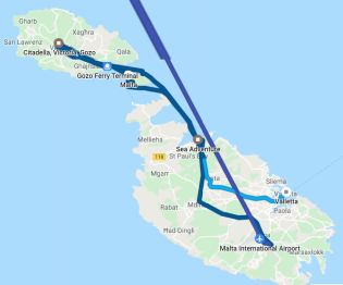 My Itinerary Second Day in The Maltese Archipelago Comino - Gozo & Amazing Citadel