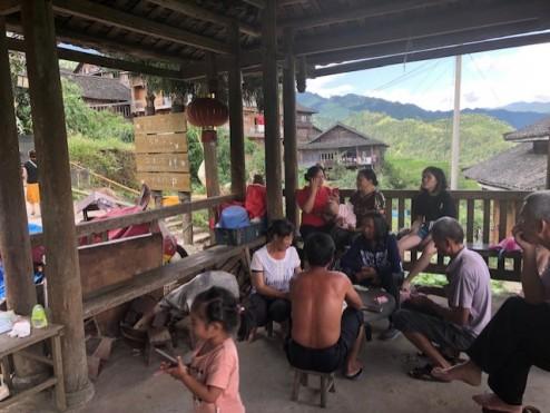 Ancient Zhuang the least modernized Zhuang minority village