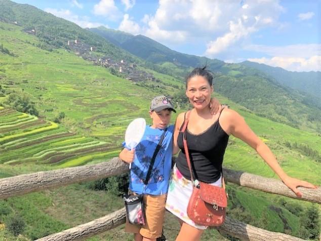 Longsheng Rice Terraces - Ancient Zhuang Village - China - jennyskyisthelimit - Colombianos en China (2)