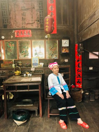 Visiting Diaojiaolou - Stilt House in Ancient Zhuang Village 4 (1)