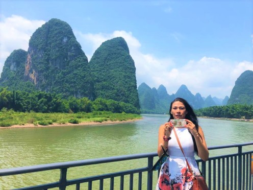 China - Day 9 Li River Cruise ¥ 20 notes by Jenny Rojas (2)