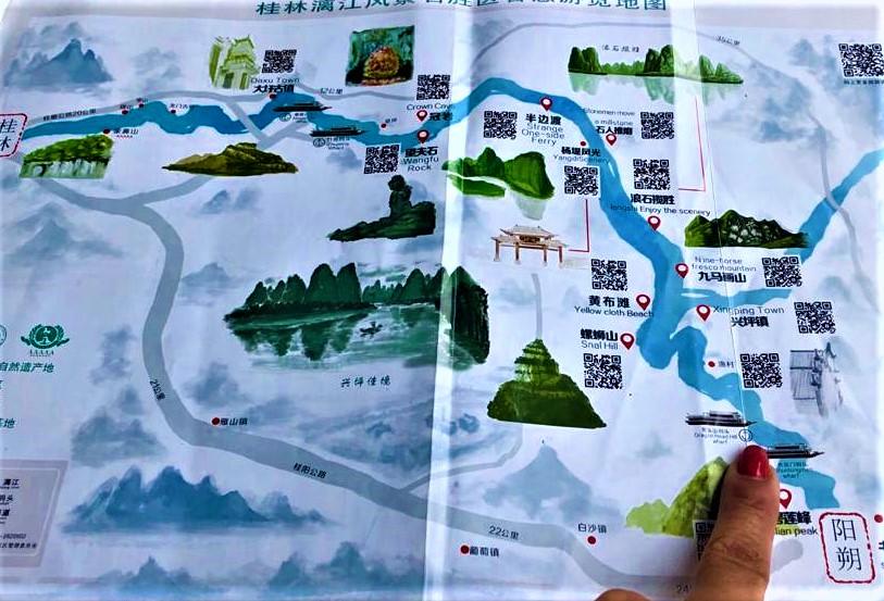 Li River Cruise Journey from Mopanshan Pier to Yangshuo -Our Itinerary