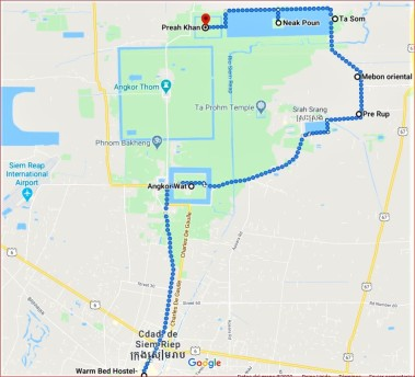 1-Itinerary Day Two - Angkor Complex by Jenny Rojas