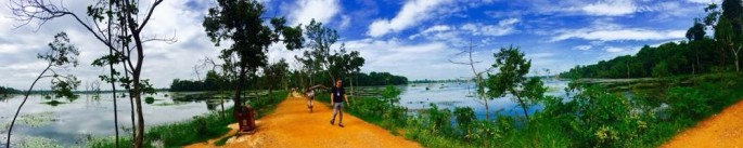 11- Day Two - Angkor Complex - Neak Pean - Late 12th Century - by Jenny Rojas