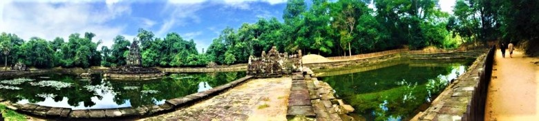 14- Day Two - Angkor Complex - Neak Pean - Late 12th Century - by Jenny Rojas