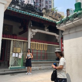 2-Hong Kong Day Experience - Man Mo Temple 2 - Aug 2019 - by Jenny Rojas