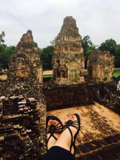 4- Angkor Complex - Pre Rub -10th Century by Jenny Rojas - Jun17 (2)