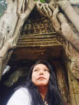 7- Angkor Complex - Eastern gopura with strangler fig at Ta Som Temple - by Jenny Rojas (2)
