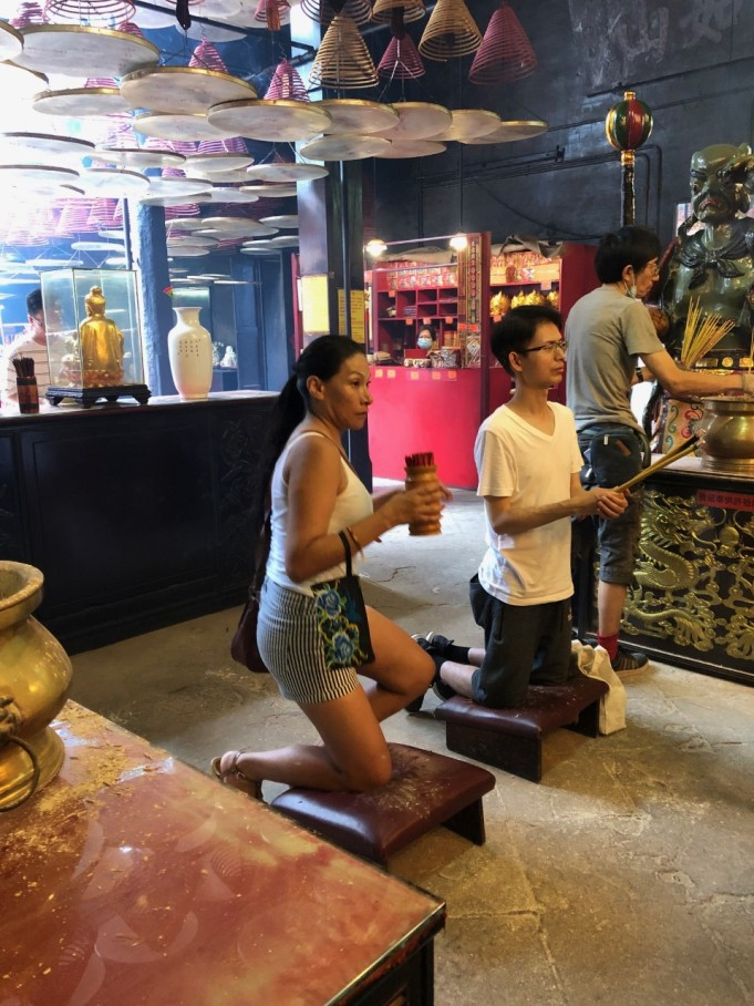 7-Hong Kong Day Experience - Tin Hau Temple, dedicated to the Goddess of the Sea3 -Aug 2019 - by Jenny Rojas
