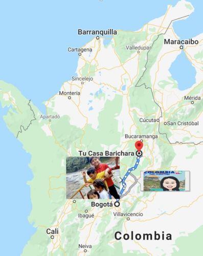 Durante su viaje hacia Santander paraditas en el camino3